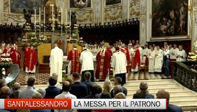 Il Vescovo per S. Alessanro: la fraternità ignorata è all'origine del razzismo
