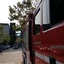 Ospedale, «riprodotto» il rogo in stanza  Servirà per le indagini sull'incendio