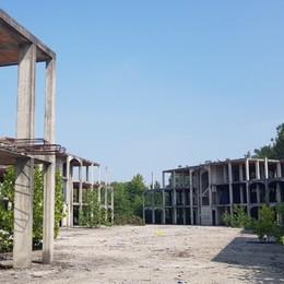 Zingonia, all'asta lo scheletro di cemento «Opportunità di rinascita dal degrado»