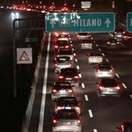 Bergamo, scontro in autostrada Feriti quattro bambini tra i 4 e i 9 anni
