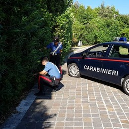 Sarnico, getta la droga nei cespugli Arrestato giovane albanese