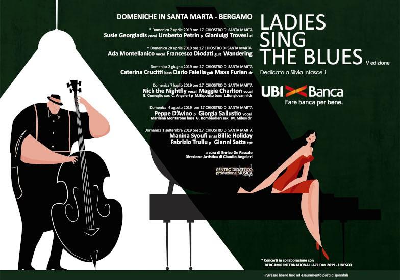 LADIES SING THE BLUES: SYOUFI, HOLIDAY, TRULLO E SATTA