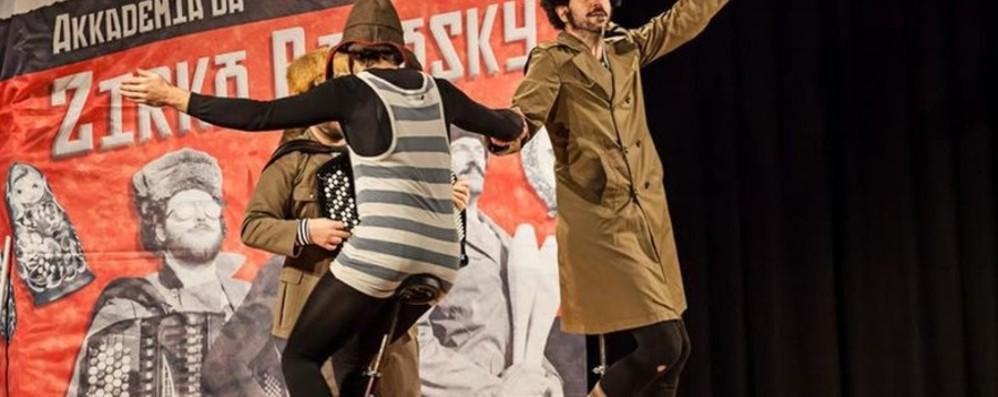Al Parco delle Cornelle il circo Bobosky