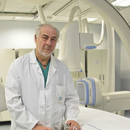«Stent e valvole: la mia vita in ospedale» Trentamila interventi in 40 anni