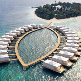 Alle Maldive il villaggio che si smonta Progetto e costruzione made in Bolgare