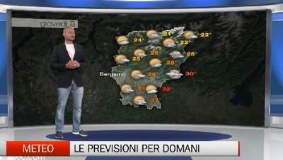 Meteo, le previsioni per giovedì 08 agosto