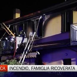 Mozzanica, incendio in casa: gravi ustioni per un 40enne