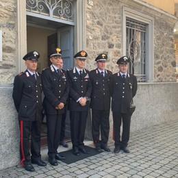 Bergamo, la visita del generale Nistri  Il ricordo del carabiniere ucciso a Terno