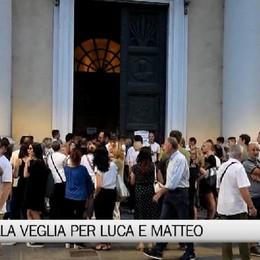 Borgo Palazzo, la veglia di preghiera per Luca e Matteo