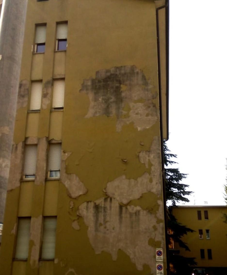Le case non assegnate di via Monte Grigna