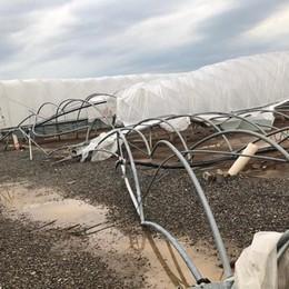 Il maltempo ha presentato il conto Oltre 11 milioni di danni in Pianura