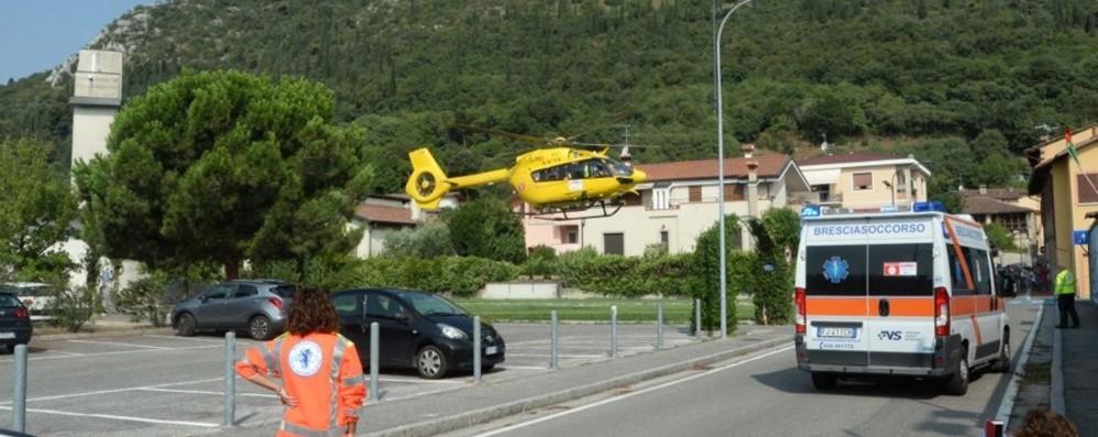 Investiti da una fiammata a Brescia Restano gravi i due idraulici ustionati