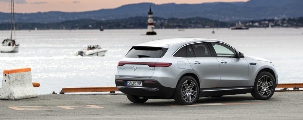 Mercedes-Benz Eqc elettrica e sofisticata
