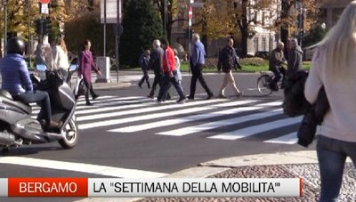 Bergamo - Una settimana all'insegna della mobilità sostenibile
