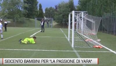 Calcio giovanile, seicento piccoli calciatori per La Passione di Yara