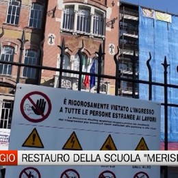Caravaggio - Il restauro della scuola Michelangelo Merisi