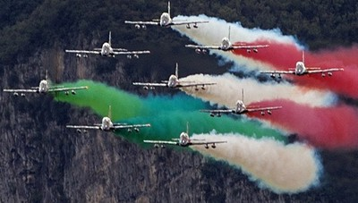 «Di fronte alle Frecce Tricolori...»