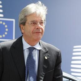 Gentiloni in Europa Un aiuto per l'Italia