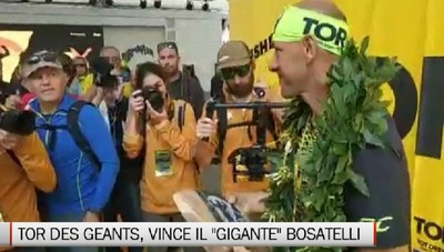 Oliviero Bosatelli vince il Tor des Geants