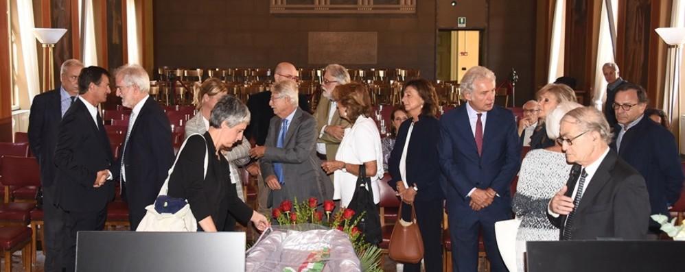 Omaggio a Bruni a Palazzo Frizzoni Vescovo: «Uomo alla ricerca del bene comune»
