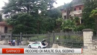 Sarnico - Estate di multe sul Sebino