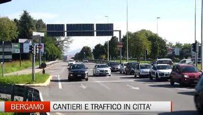 Viabilità - Viadotto di Boccaleone aperto; lavori in corso in via Baioni