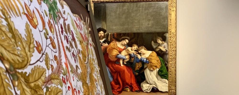 Arte e moda all'Accademia Carrara I foulard di Gucci in mostra - Foto