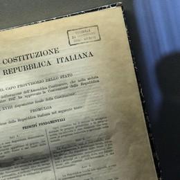 Costituzione italiana a scuola a Bergamo Donata in 650 classi delle classi comunali