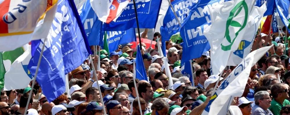 La Lega si prepara per Pontida Sarà il raduno dei record: «Saremo in 70 mila»
