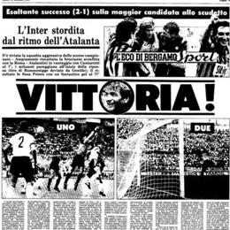 L'Atalanta, il Genoa e il genio di  Peters. Ricordate quel gol? Sono  34 anni...