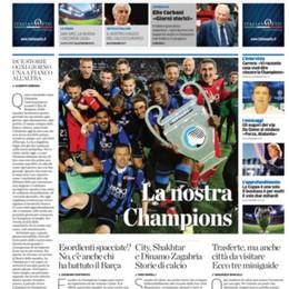 L'Eco di Bergamo e la Champions dell'Atalanta: il 18 un'edizione straordinaria