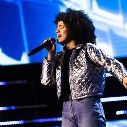 Mariam, standing ovation a X-Factor La 18enne di Bergamo canta Mahmood