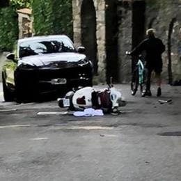 Schianto frontale a San Vigilio - Foto Molto grave un motociclista di 18 anni