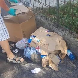 Torre Boldone, rifiuti abbandonati Comminate tre maxi multe