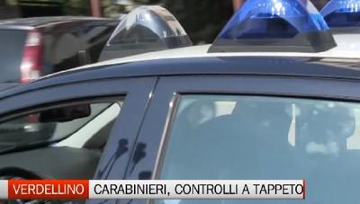 Verdellino: controlli a tappeto del Carabinieri