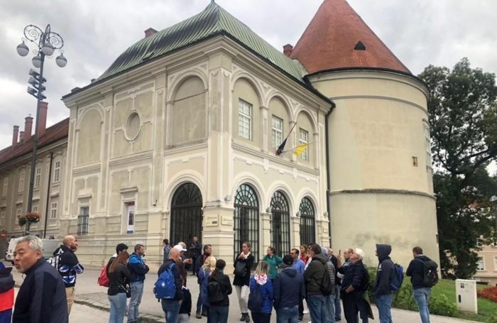 Atalantini fans in Zagreb