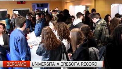 Università di Bergamo, crescita record  Servono spazi adeguati per gli studenti