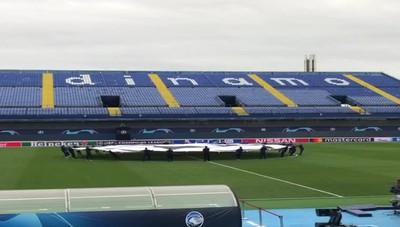Zagabria, allo stadio la prova generale  della cerimonia Champions