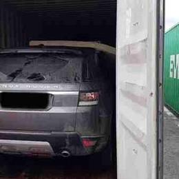 Auto rubate a Bergamo e portate in Africa Scoperti 5 container, recuperate 12 auto
