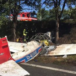 Bergamo. Cade aereo da turismo, un morto e tre feriti