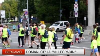 Bergamo, domenica la Millegradini 2019