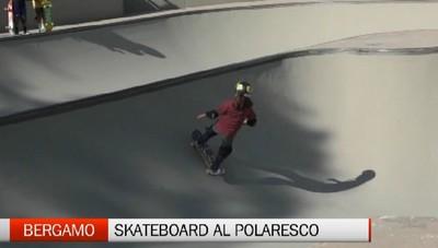 Bergamo, skateboard protagonista al Polaresco