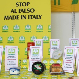 «Diciamo stop al cibo anonimo» Raccolta di firme con Coldiretti