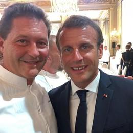Lo chef Chicco Cerea ospite di Macron All'Eliseo «stellati» da tutto il mondo