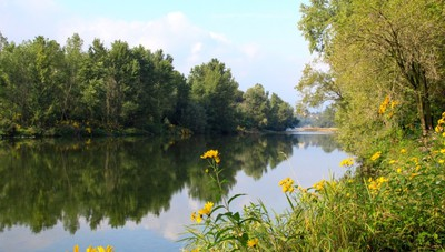 Lungo il fiume Brembo