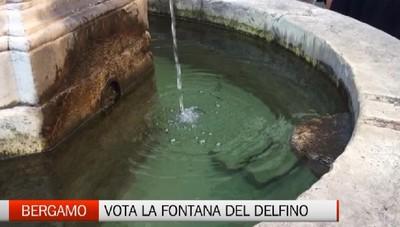 Un click per la Fontana del Delfino. Su interet si sceglie come restaurare l'opera d'arte gratis