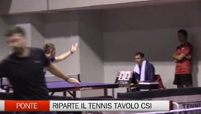 Csi - Il tennis tavolo riparte da Ponte San Pietro