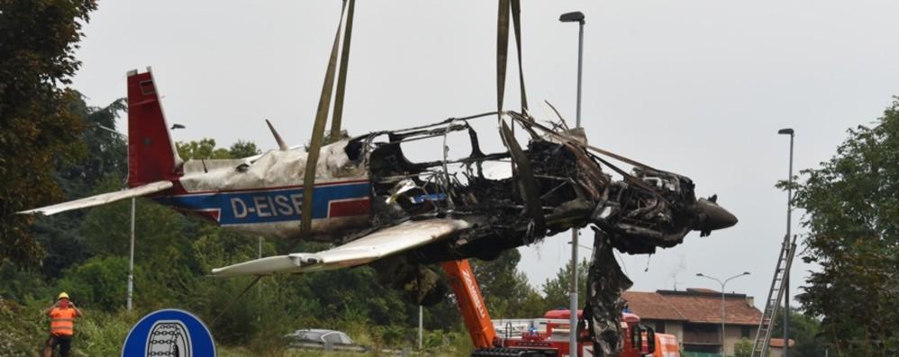 Intervenuti dopo lo schianto aereo Proposta la benemerenza per i due eroi