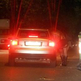 Blitz anti prostituzione sulle strade Controllate 12 ragazze tra Ghisalba e Palosco