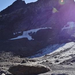 Gleno, il ghiacciaio verso l'estinzione Si è ritirato di 10 metri in un anno